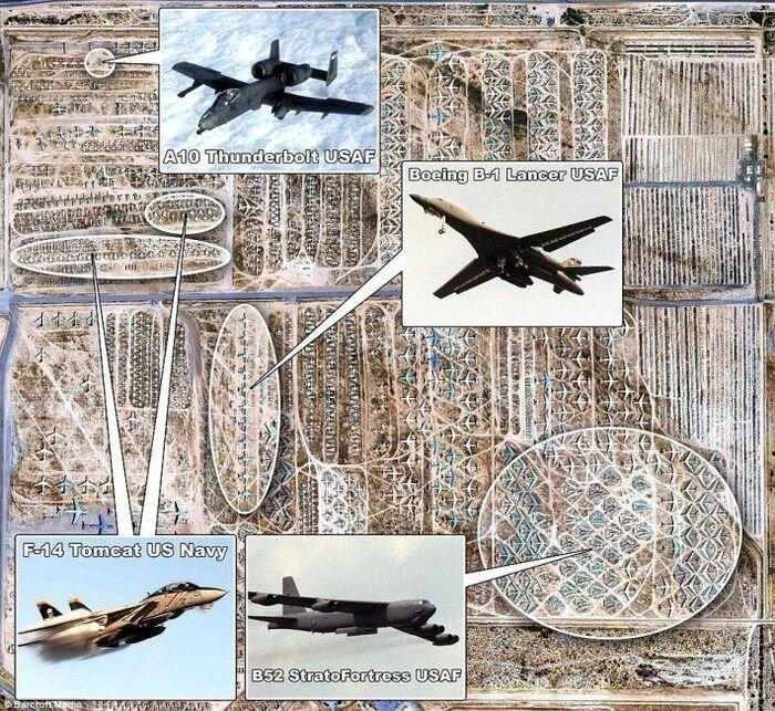 Авиабаза Девис-Монтен (7 фото)