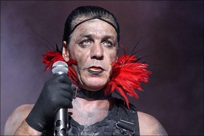 Rammstein зажигает в Москве (28 фото)