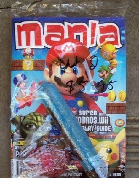 Супер Марио для развратных девочек (3 фото)