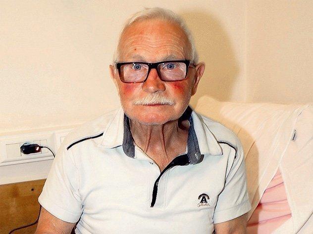Разбитый инсультом каскадёр исполнявший опаснейшие трюки в культовых лентах теряет зрение