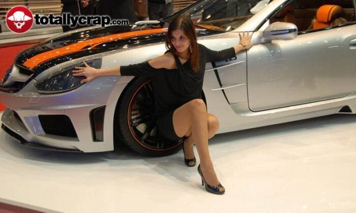 Самые красивые девушки автомобильной выставки в Женеве 2010 (110 фото)