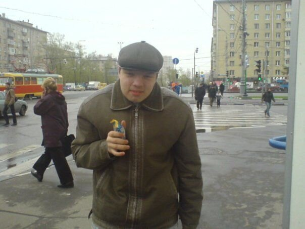 Прислал  Саша Орешкин