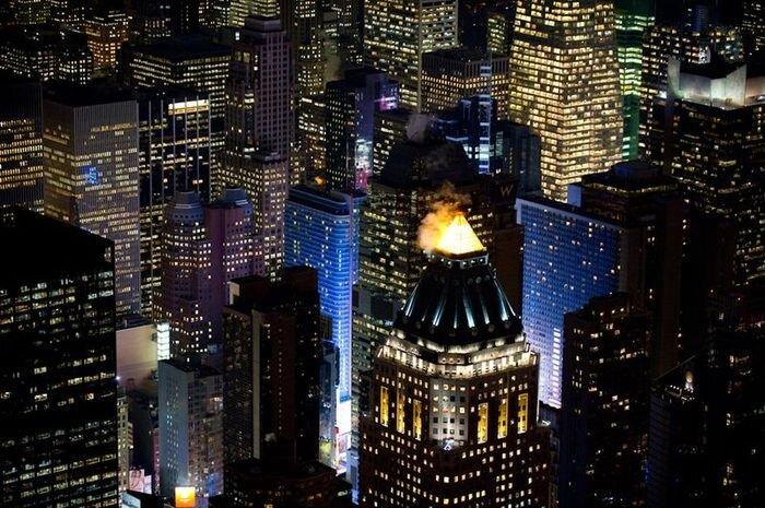 Нью Йорк Сити и Лас Вегас ночью (20 фото)