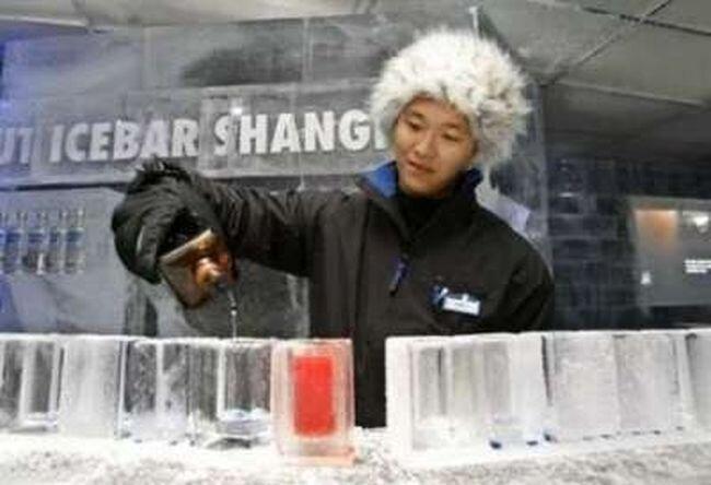 Ледяной бар (8 фото)