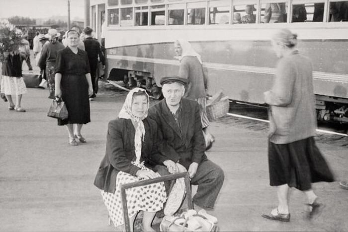 Москва 1957 года глазами швейцарского репортера, (32 фото)