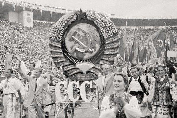 Москва 1957 года глазами швейцарского репортера (33 фото)