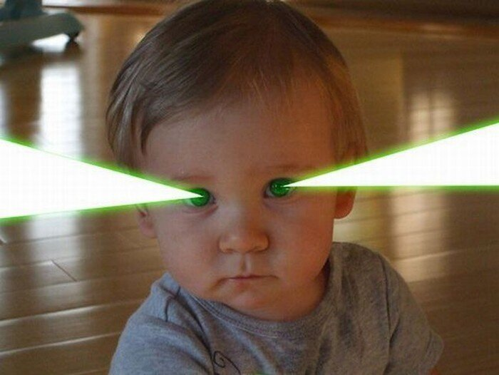 Глаза-лазеры (55 фото)