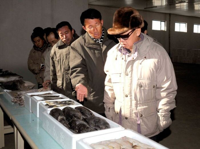 Трудовые будни Ким Чен Ира (31 фото)