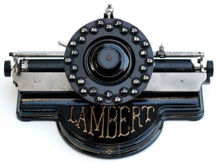 Старые печатные машинки (50 фото)