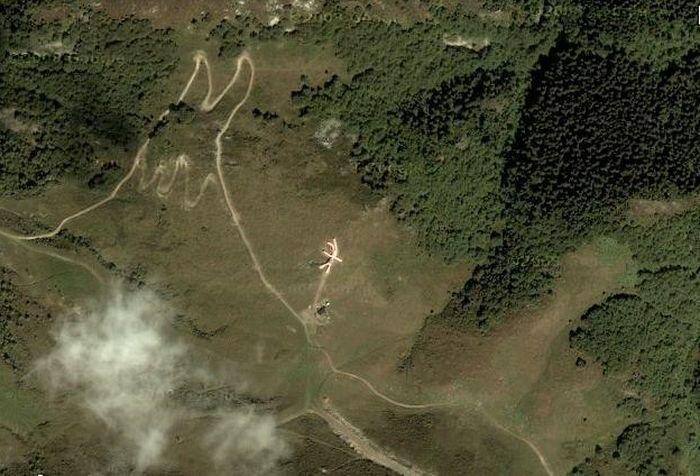 Интересные места на картах. Часть 3. (16 фото)