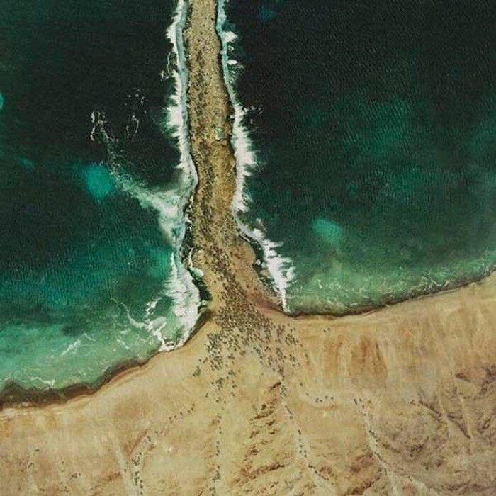 Библейские события глазами Google Maps (4 фото)