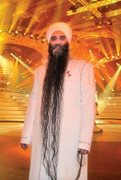 Самая длинная борода в мире (5 фото)