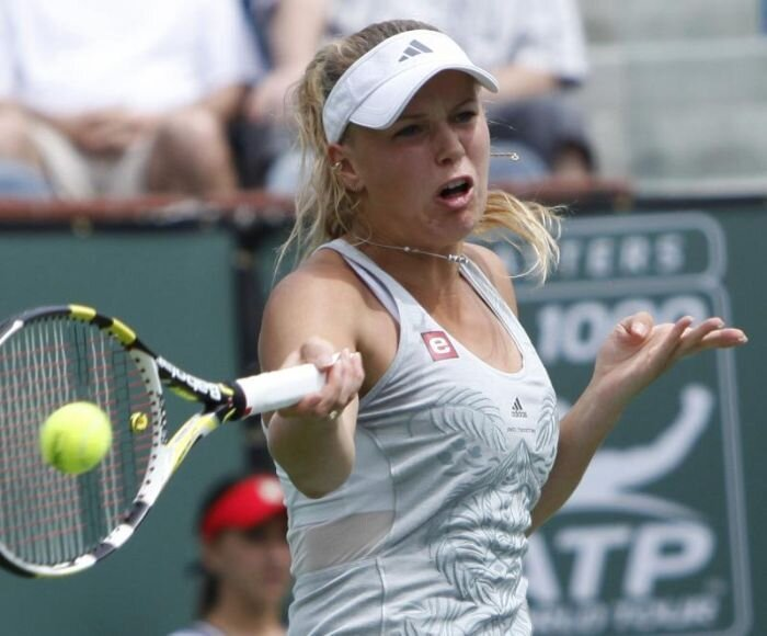 Напряженные теннисисты (13 фото)