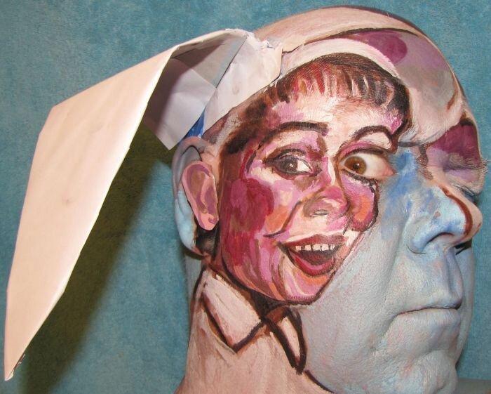Бодиарт на лицах (121 фото)