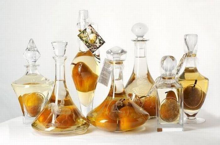Как груши попали в бутылку? (9 фото)