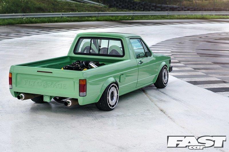 Свап V8 в VW Caddy достаточно дикая идея сама по себе, но это? Это просто безумие