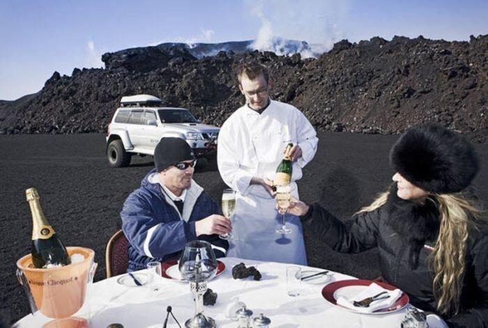 Обед на вулкане (10 фото)