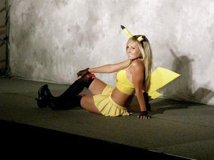 Джессика Нигири - самая сексуальная девушка-Пикачу (41 фото)