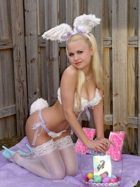 Сексуальные пасхальные крольчихи (61 фото)