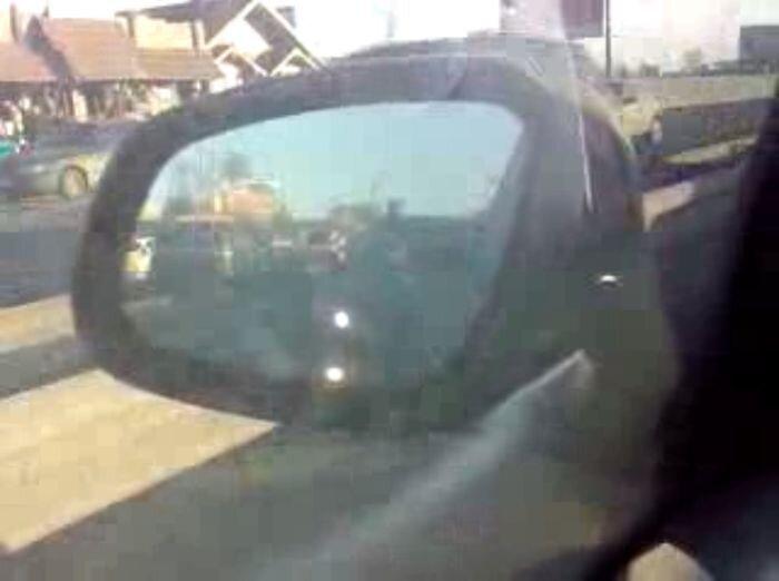 Водители против мигалок (фото+видео)