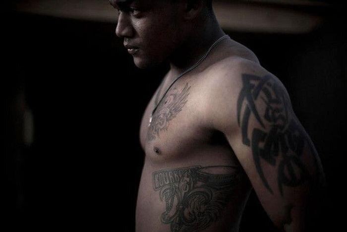 Американские морпехи и их татуировки (16 фото)