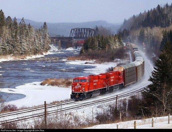 Поезда (18 фото)