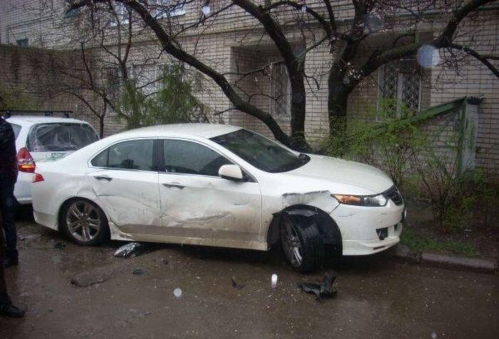 И снова малолетнее быдло за рулем, Краснодар  (11 фото)