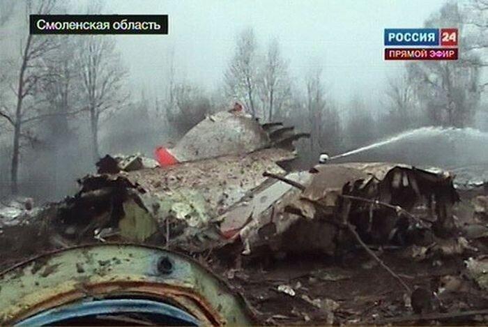 Под Смоленском разбился самолет польского президента (28 фото+видео)