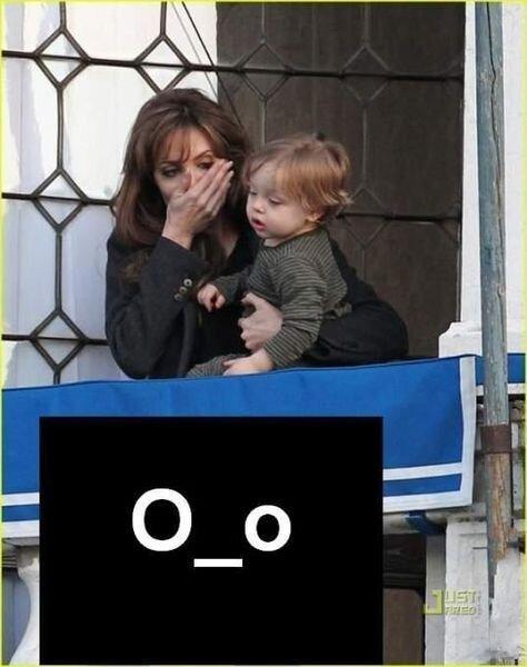 Сын Анджелины Джоли убил кролика (8 фото)
