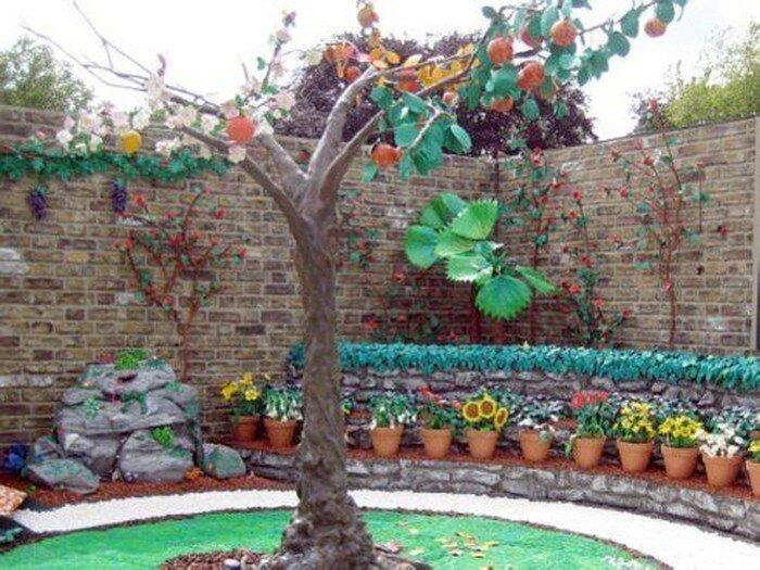 Пластилиновый сад (6 фото)