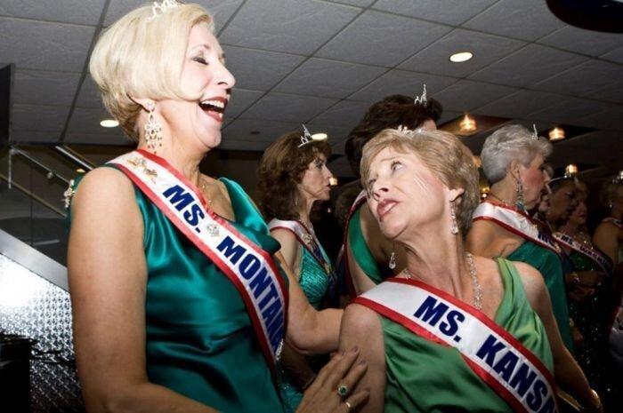«Пожилая Мисс Америки» (30 фото)