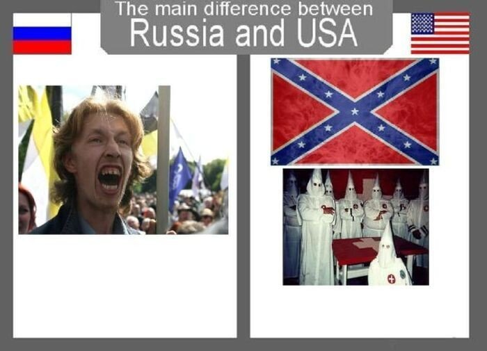 Америка и Россия (28 фото)