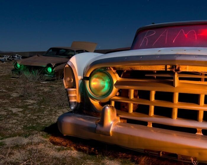 Брошенные машины в США (42 фото)