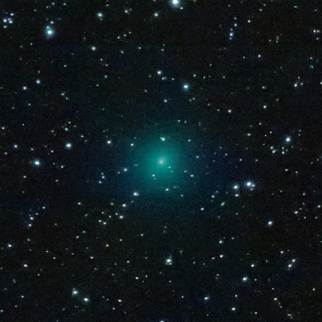 К Земле летит «Рождественская комета»