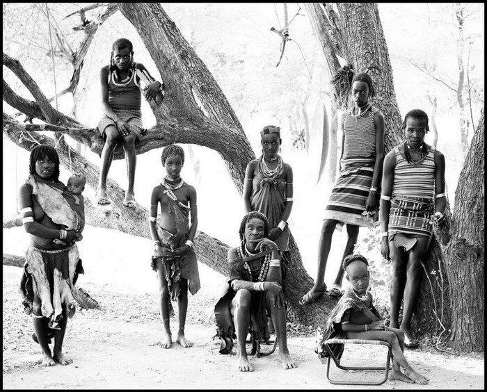 Портреты жителей Эфиопии (12 фото)