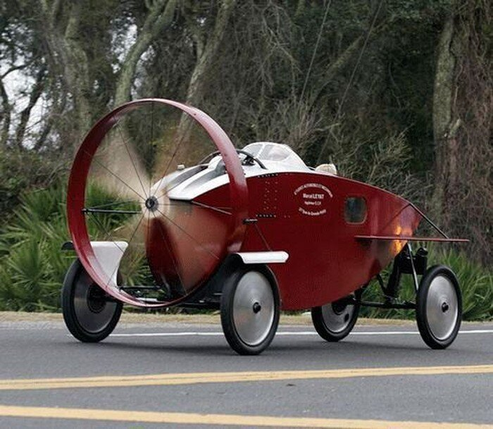 Машинка с пропеллером (8 фото)