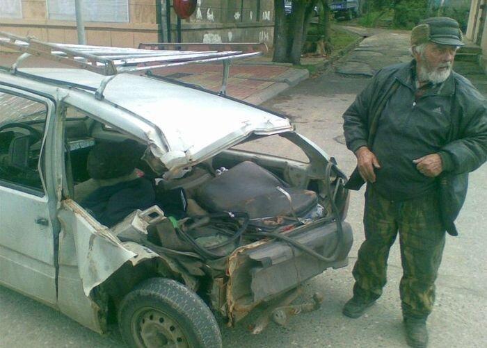 Дедушка едет в Краснодар! (6 фото + видео)