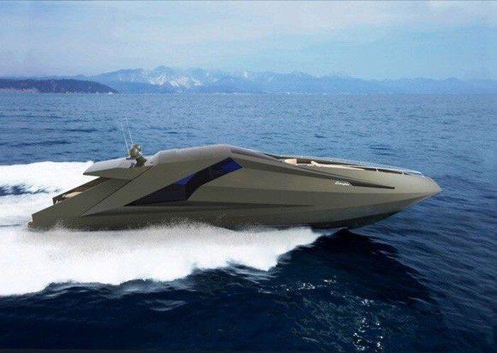 Яхта Ламборджини (8 фото)