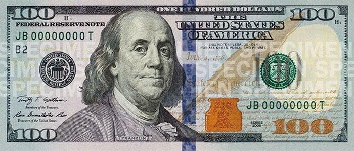 Изменение 100-долларовой купюры в течении 150 лет (23 фото)