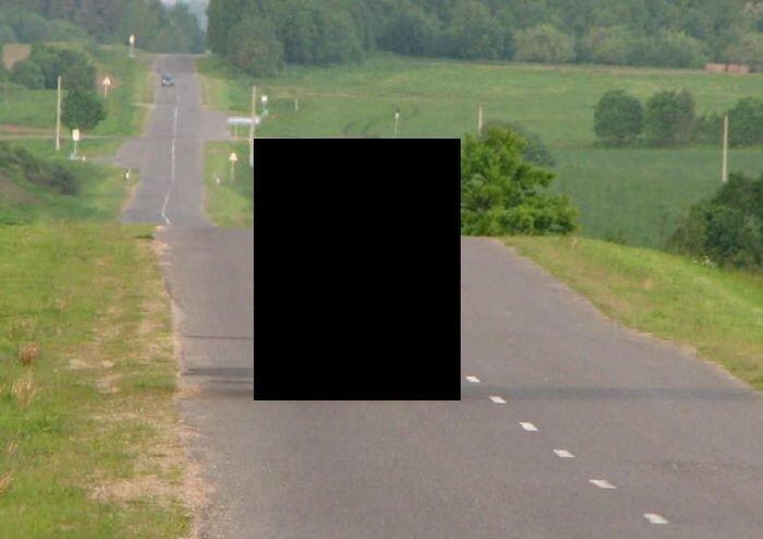 И это чудо ездит по дорогам общего пользования (2 фото)