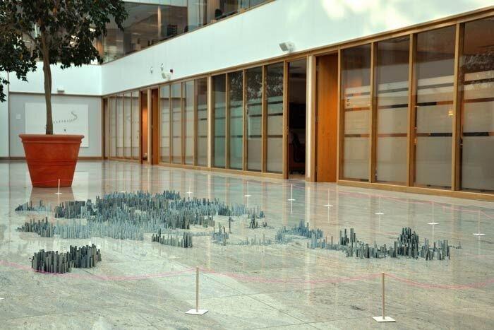 Скульптурные пейзажи Питера Рута (Peter Root)  (9 фото + видео)