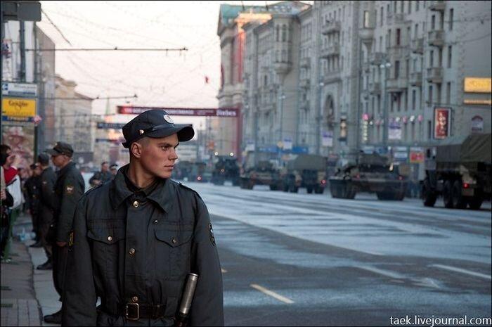 Репетиция Парада Победы (27 фото)