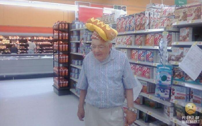 Интересные люди в супермаркетах. Часть 3 (132 фото)