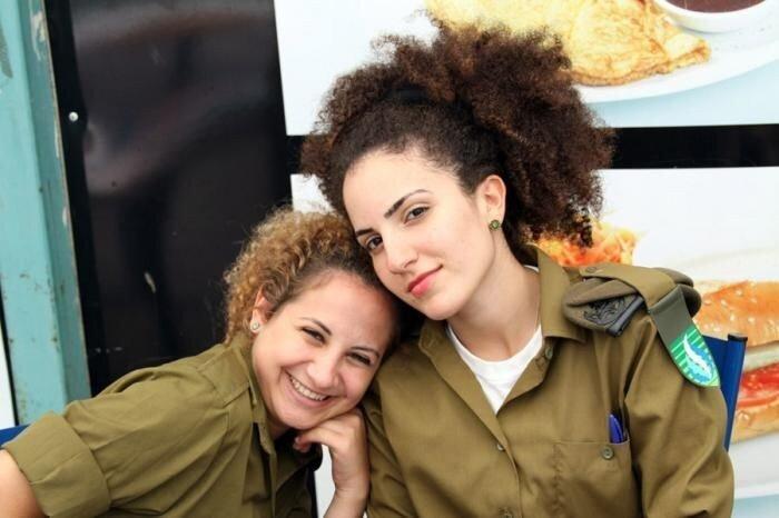 Девушки армии Израиля (34 фото)