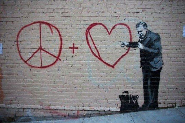 Бэнкси отметился на стенах Сан-Франциско (5 фото)