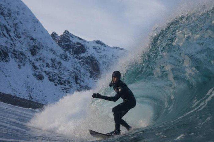 Арктический серфинг (10 фото)