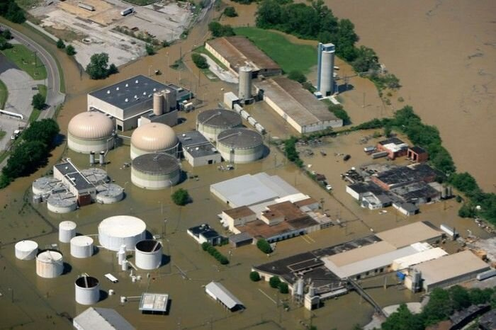 Наводнение в США (14 фото)