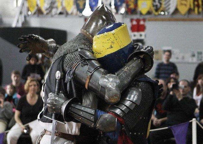 Рыцарский турнир в Канаде (20 фото)