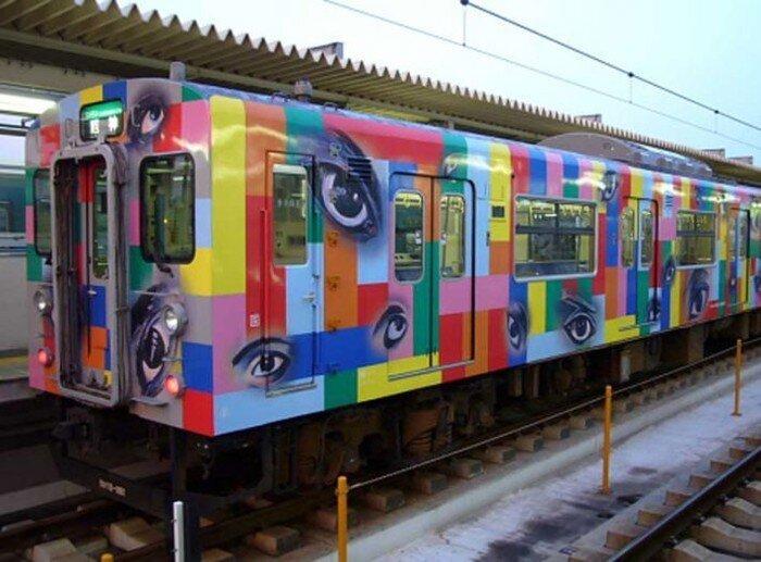 Самые поездатые поезда в поездном мире  (35 фото)
