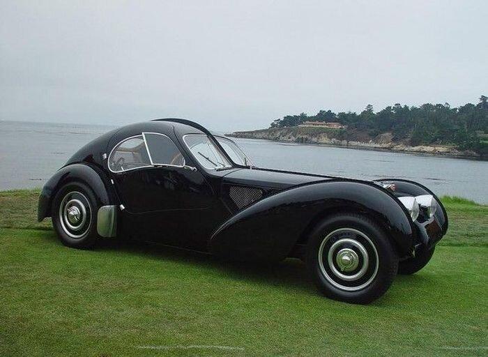 Bugatti 1936 года установил абсолютный мировой рекорд (15 фото)